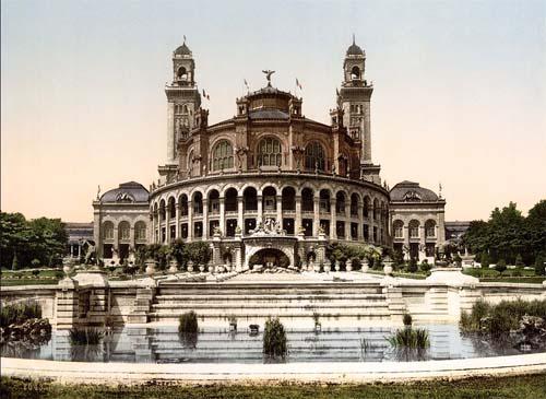 Le Palais du Trocadéro en 1900