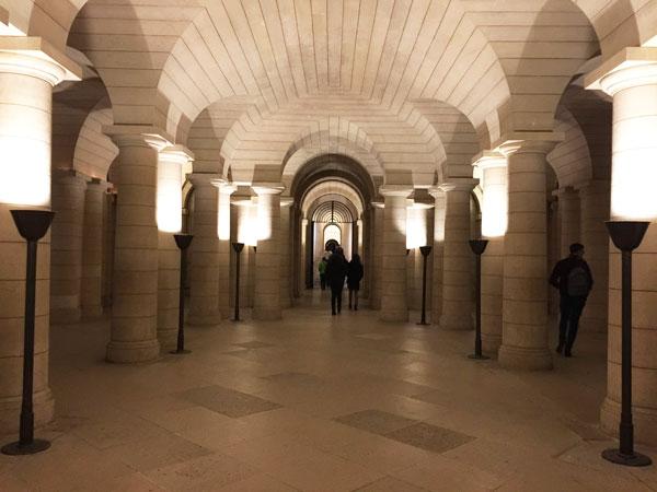 Le Panthéon : la crypte