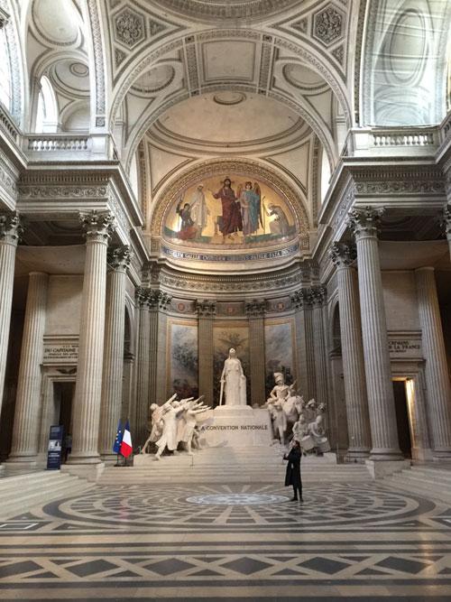 Le Panthéon : le chœur
