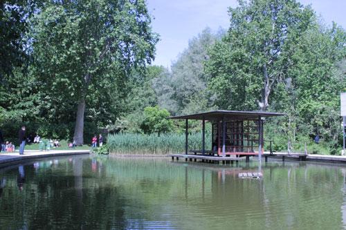 Le parc de Bercy - Le jardin romantique