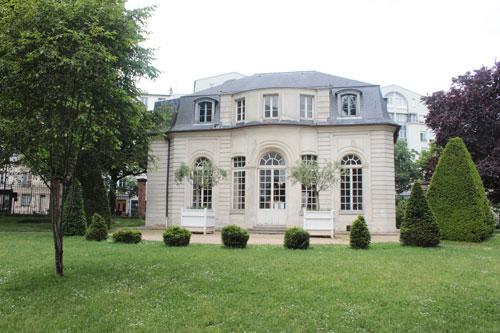 Le pavillon de l'Ermitage