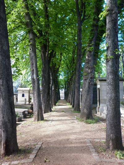 Le cimetière du Père-Lachaise