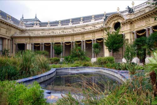 Le Petit Palais - Le jardin intérieur