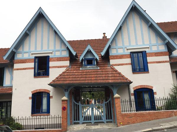 La petite Alsace : pavillons d'entrée