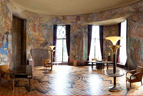 Le palais de la Porte Dorée - Salon Lyautey