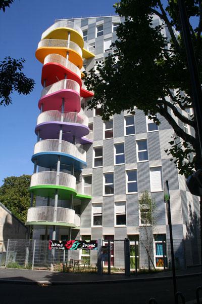 Logements sociaux, rue Pierre Rebière