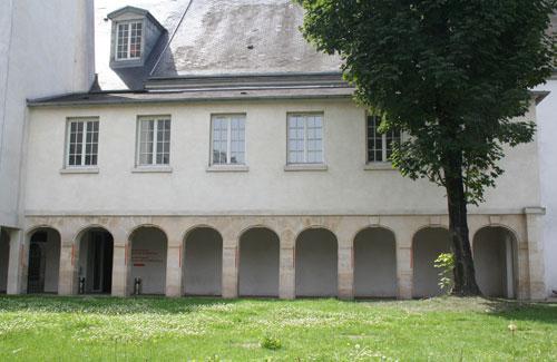 Le couvent des Récollets : l'ancien cloître