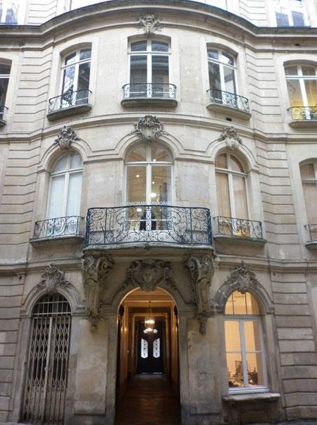 Hôtel des Dames de saint-Chaumond - façade vers le boulevard de Sébastopol