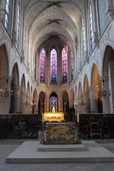 L' église Saint-Germain-l'Auxerrois - Le chœur modernisé au XVIIIe siècle