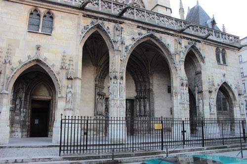 L' église Saint-Germain-l'Auxerrois - Le portail