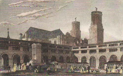 Le marché Saint-Germain au XIXe siècle