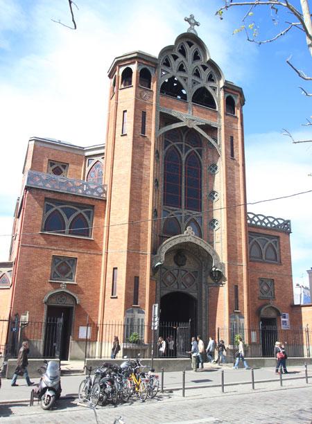 L'église saint-Jean de Montmartre