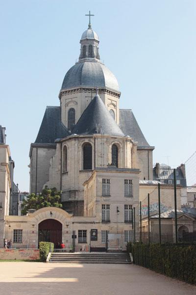 L'église Saint-Paul-Saint-Louis : le chevet et le dôme
