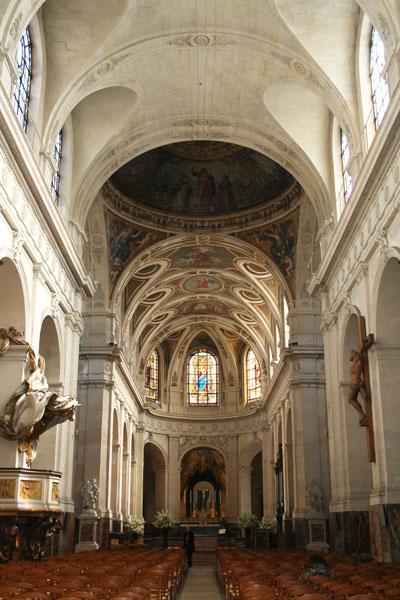L'église Saint-Roch - La nef