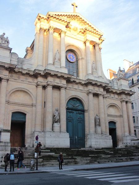 L'église Saint-Roch - La façade