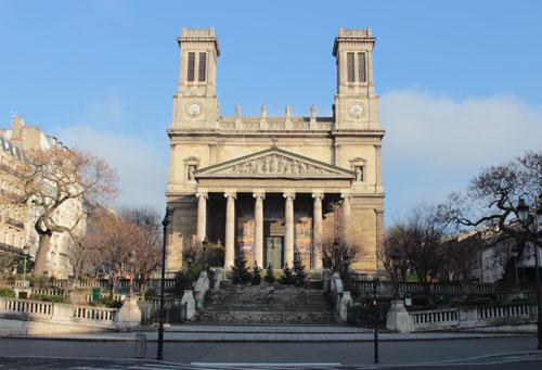 L'église Saint-Vincent de Paul
