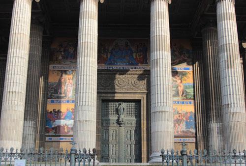 L'église Saint-Vincent de Paul - Les scènes de l'Ancien et du Nouveau Testament