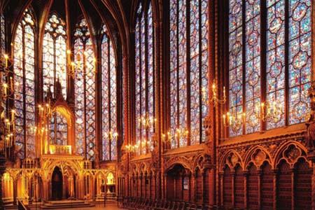 La Sainte-Chapelle - Les vitraux