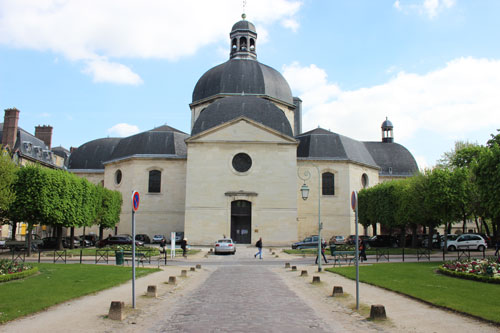 L'hôpital de la Salpêtrière - La chapelle