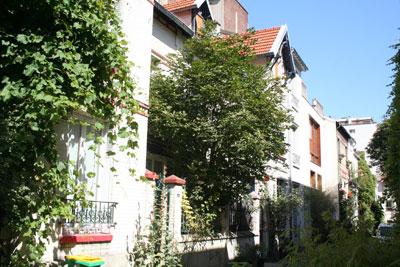 La villa Santo Dumont