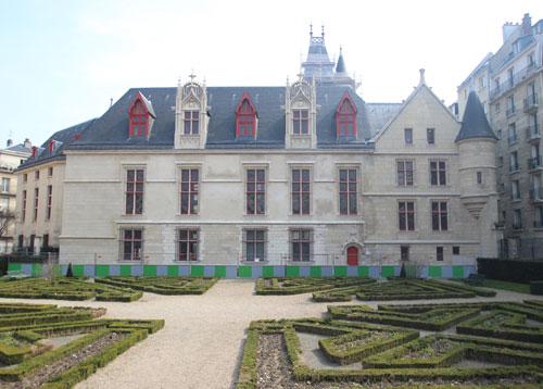 L' Hôtel de Sens - Façade sur jardin