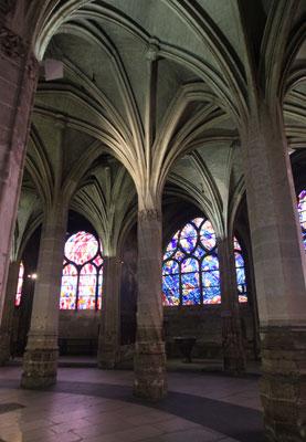 Saint-Séverin : la colonne torse