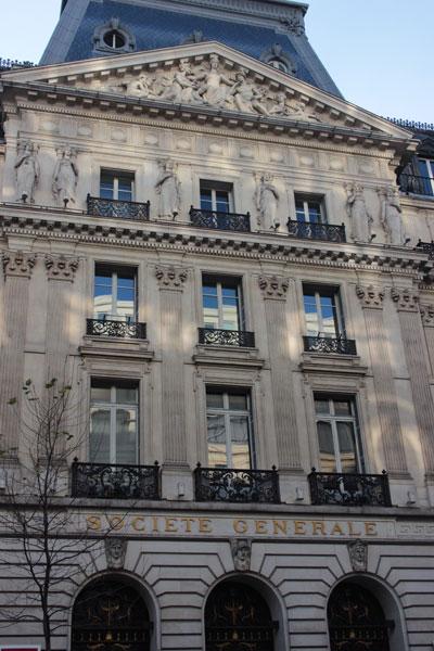 L'agence centrale de la Société Générale