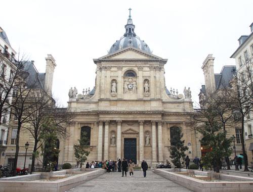 La chapelle de la Sorbonne