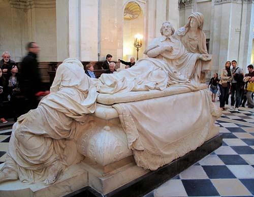 La chapelle de la Sorbonne - Le tombeau du cardinal de Richelieu