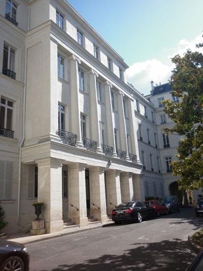 Le square d'Orléans