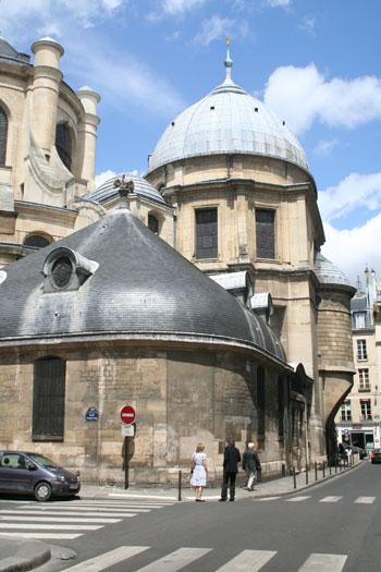 Eglise Saint-Sulpice - La chapelle de la Vierge
