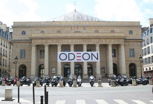 Le théâtre de l'Odéon