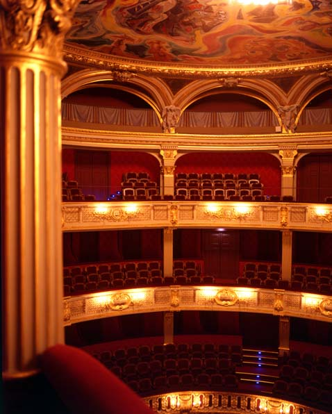 Le théâtre de l'Odéon - La salle