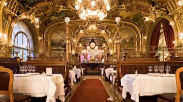 La gare de Lyon - Le restaurant le Train Bleu