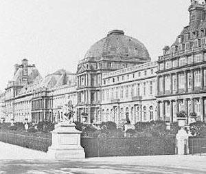 Le Palais des Tuileries au XIXe siècle