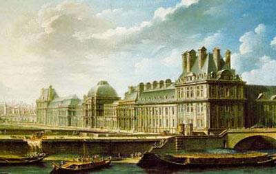 Le Palais des Tuileries au XVIIIe siècle
