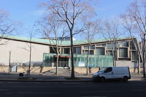 Le siège de l'Unesco - Le centre de conférences