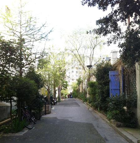 La villa de l'Ermitage