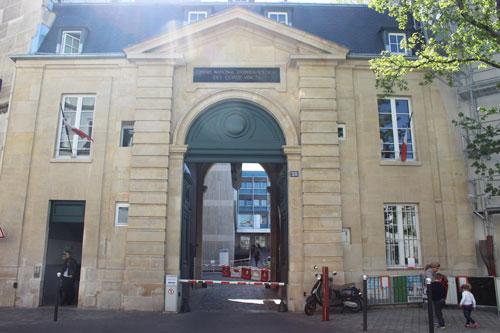 L'hôpital des Quinze-Vingt - Pavillon d'entrée