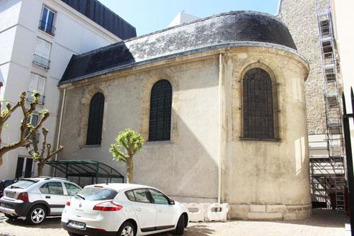 L'hôpital des Quinze-Vingt - La chapelle