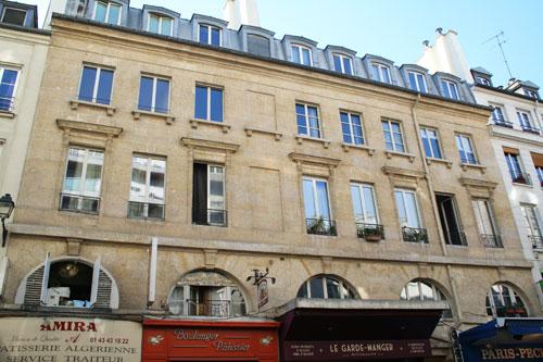 Immeuble au n°17 rue d'Aligre