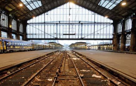 La gare d'Austerlitz - Halle métallique