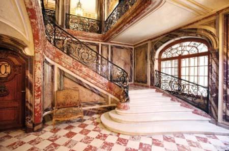 L'hôtel de Béhague : l'escalier d'honneur