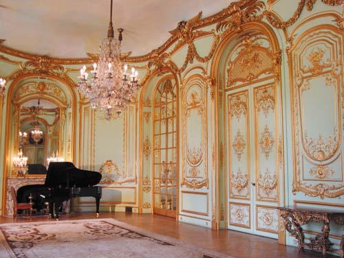 L'hôtel de Béhague - La salle de bal ou salon d'Or
