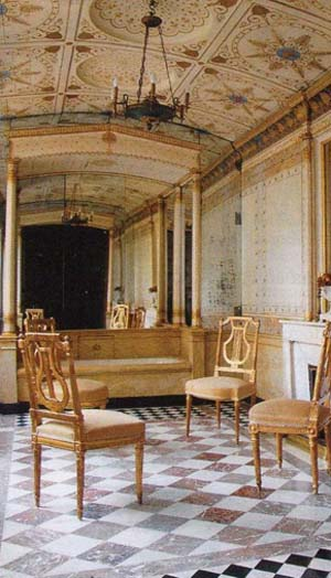 L'hôtel de Bourrienne - La salle de bain