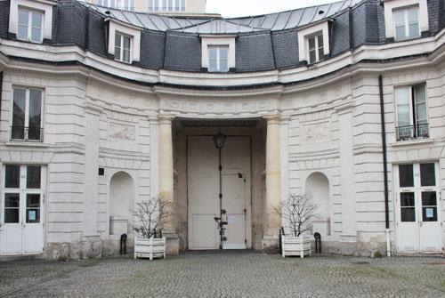L'hôtel Benoist de Saint-Paulle - Le revers du portail