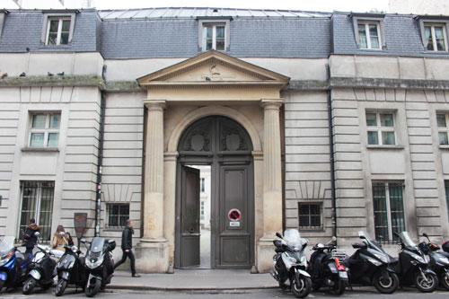 L'hôtel Benoist de Saint-Paulle - Le portail