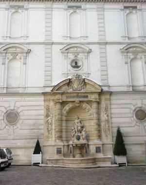 fontaine de l'hôtel Cail