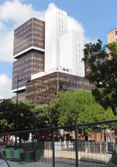 Le centre universitaire Tolbiac