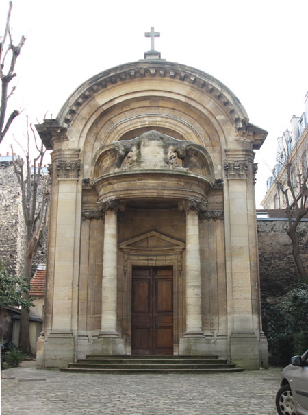 Ancienne chapelle du collège des Irlandais, 19 rue des Carmes - église Saint-Ephrem-le-Syriaque.